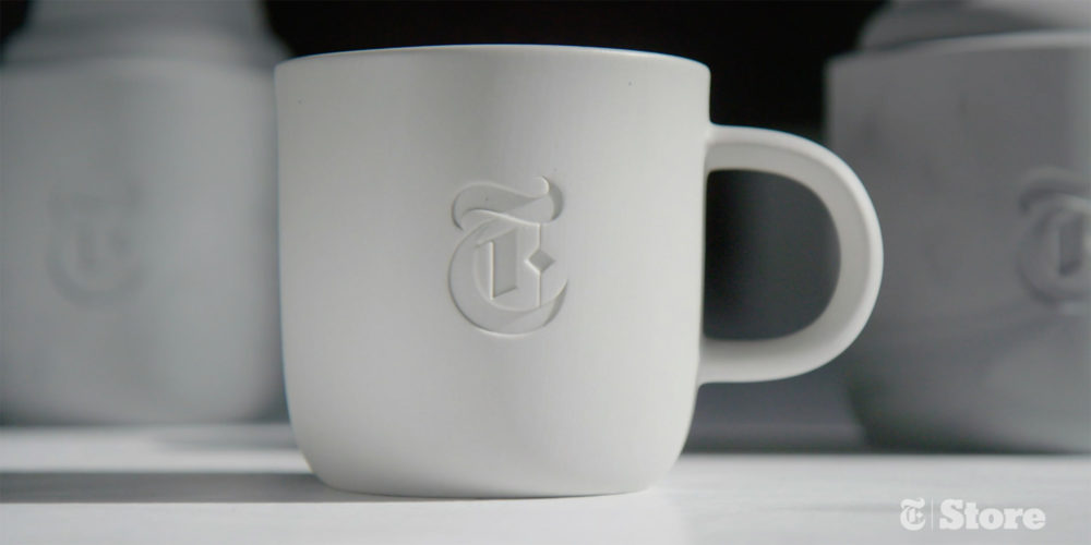 Branded video content example - NY Times Store
